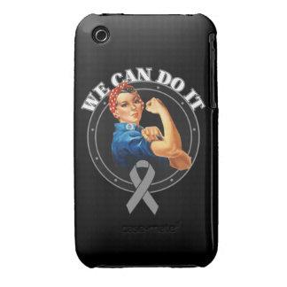 Cáncer de cerebro - Rosie el remachador - podemos iPhone 3 Case-Mate Cárcasa