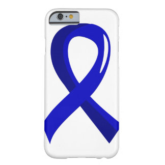 Cáncer de colon Blue Ribbon 3 Funda Barely There iPhone 6