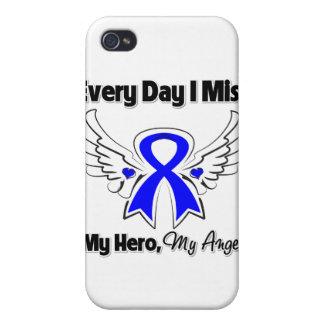 Cáncer de colon cada Srta My Hero del día I iPhone 4/4S Funda