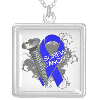 Cáncer de colon - cáncer del tornillo collar plateado