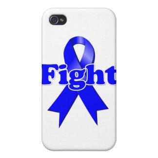 Cáncer de colon de la lucha iPhone 4 carcasas