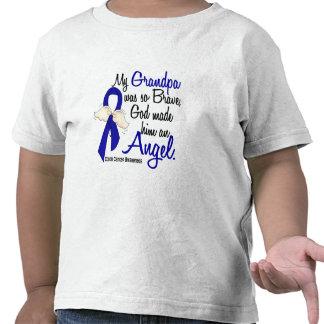 Cáncer de colon del abuelo del ángel 2 camiseta