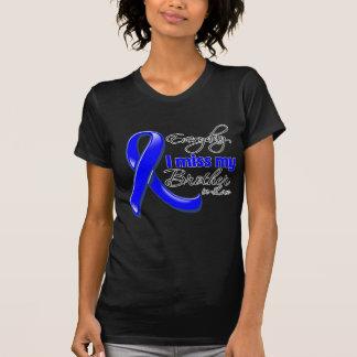 Cáncer de colon diario de Srta. My Brother-in-Law T-shirts