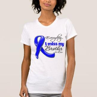 Cáncer de colon diario de Srta. My Brother-in-Law Camisetas