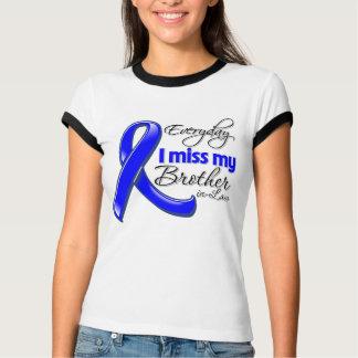 Cáncer de colon diario de Srta. My Brother-in-Law Tee Shirt