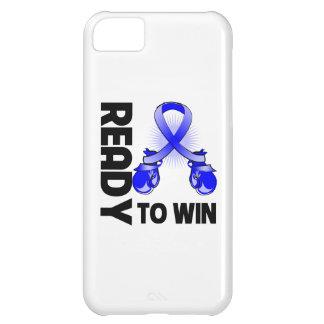 Cáncer de colon listo para ganar funda para iPhone 5C