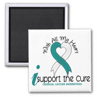 Cáncer de cuello del útero apoyo la curación iman de frigorífico