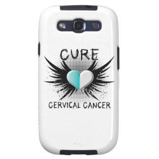 Cáncer de cuello del útero de la curación galaxy s3 carcasa