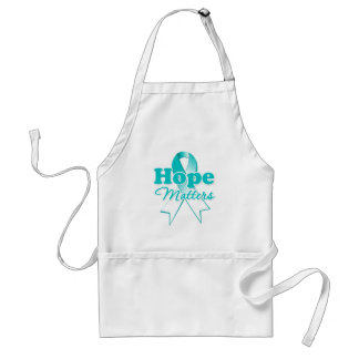 Cáncer de cuello del útero de la esperanza delantal