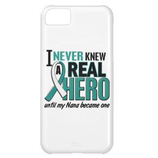 Cáncer de cuello del útero de Nana del héroe real Funda Para iPhone 5C