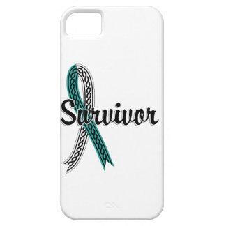 Cáncer de cuello del útero del superviviente 17 funda para iPhone SE/5/5s
