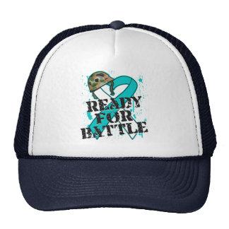 Cáncer de cuello del útero listo para la batalla gorra