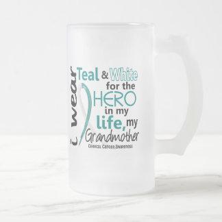 Cáncer de cuello del útero para mi héroe mi abuela taza de café