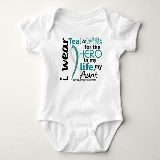 Cáncer de cuello del útero para mi héroe mi tía 2 body para bebé