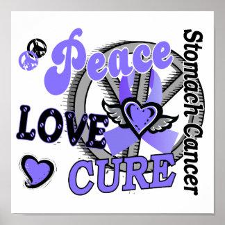 Cáncer de estómago de la curación 2 del amor de la impresiones