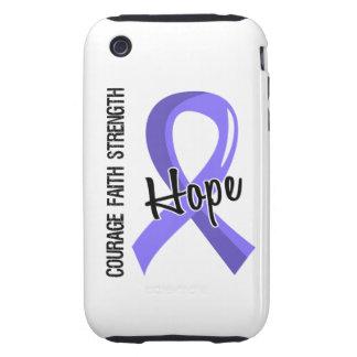 Cáncer de estómago de la esperanza 5 de la fe del iPhone 3 tough fundas