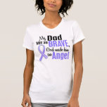 Cáncer de estómago del papá del ángel 1 camisetas