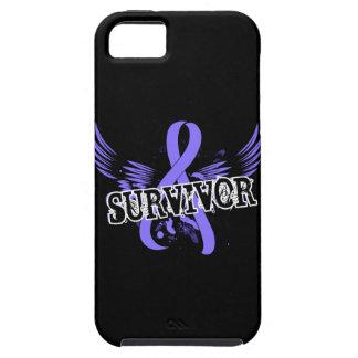Cáncer de estómago del superviviente 16 iPhone 5 carcasas