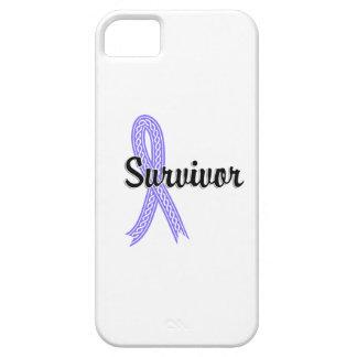 Cáncer de estómago del superviviente 17 funda para iPhone 5 barely there