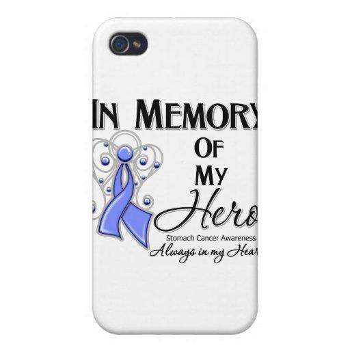 Cáncer de estómago en memoria de mi héroe iPhone 4/4S carcasa