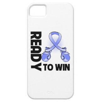 Cáncer de estómago listo para ganar funda para iPhone 5 barely there