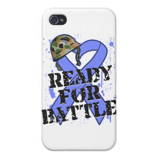 Cáncer de estómago listo para la batalla iPhone 4/4S funda