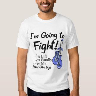 Cáncer de estómago voy a luchar camisas