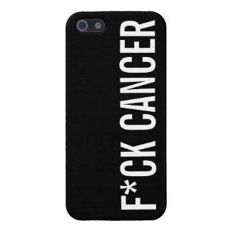 CÁNCER DE F*CK iPhone 5 CARCASA