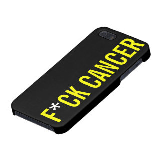 CÁNCER DE F*CK iPhone 5 CARCASAS