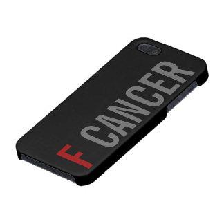 CÁNCER DE F iPhone 5 CARCASAS