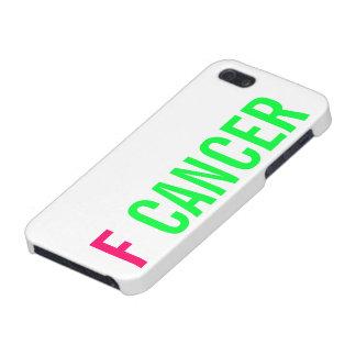 CÁNCER DE F iPhone 5 FUNDA
