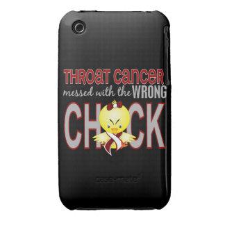 Cáncer de garganta ensuciado con el polluelo Case-Mate iPhone 3 cárcasas