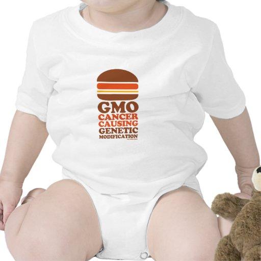 Cáncer de GMO Camisetas