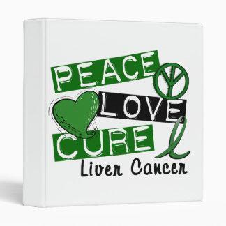 Cáncer de hígado de la curación del amor de la paz
