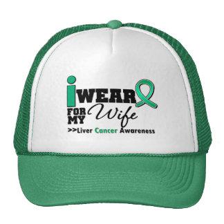 Cáncer de hígado llevo el verde esmeralda para mi  gorra
