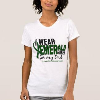 Cáncer de hígado llevo el verde esmeralda para mi camiseta