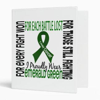 Cáncer de hígado llevo orgulloso el verde esmerald