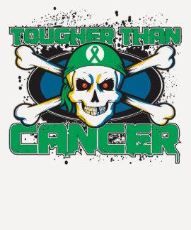 Cáncer de hígado más duro que el cráneo del cáncer tshirt