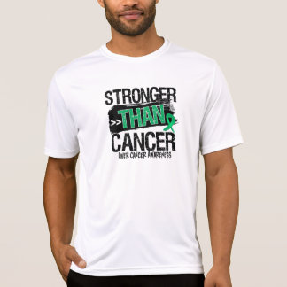 Cáncer de hígado - más fuerte que cáncer camiseta