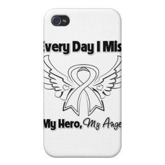 Cáncer de hueso cada Srta My Hero del día I iPhone 4 Carcasa