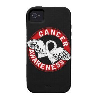 Cáncer de hueso de la conciencia 14 Case-Mate iPhone 4 carcasa