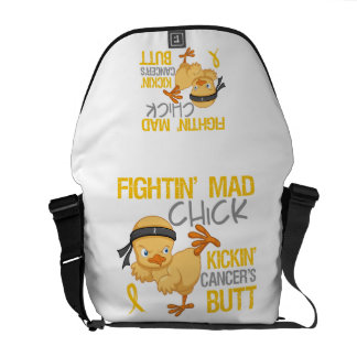 Cáncer de la niñez del polluelo de Fightin Bolsa De Mensajería