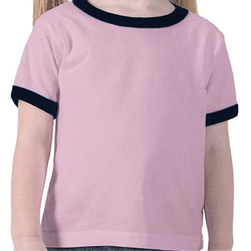 Cáncer de la niñez ensuciado con el polluelo incor camiseta
