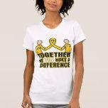 Cáncer de la niñez juntos haremos un Differenc Camiseta