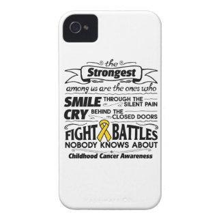 Cáncer de la niñez más fuerte entre nosotros Case-Mate iPhone 4 fundas