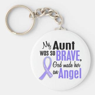 Cáncer de la tía estómago del ángel 1 llavero