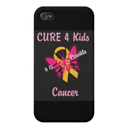 Cáncer de los niños de la CURACIÓN 4 - ES posible  iPhone 4/4S Carcasas