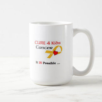 Cáncer de los niños de la CURACIÓN 4 - ES posible Taza De Café