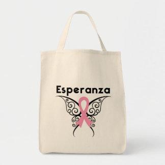 Cancer de Mama - Esperanza Tote Bags