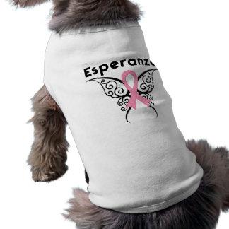 Cancer de Mama - Esperanza Dog Tee Shirt